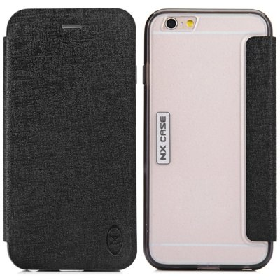 ФОТО Practical PC TPU and PU Material Protective Cover Case for iPhone 6 Plus  -  5.5 inches