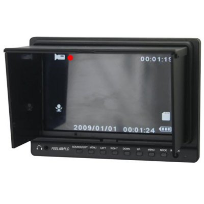 New FPV  - 758 7 inch Feelworld FPV Monitor  -  Build - in 5.8GHZ Receiver with Sun ShieldMulti Rotor Parts<br>New FPV  - 758 7 inch Feelworld FPV Monitor  -  Build - in 5.8GHZ Receiver with Sun Shield<br><br>Type: Receiver<br>Material: Plastic, Electronic components<br>Feature: Tools/accessories of radio control series toy