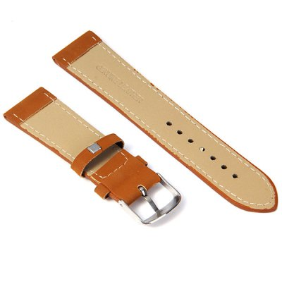 2.2cm Leather Watch Band StrapWatch Accessories<br>2.2cm Leather Watch Band Strap<br><br>Type: Normal watch band<br>Material: Leather<br>Color: Brown<br>Product weight: 0.008 kg<br>Product size (L x W x H) : 21 x 2.2 x 0.2 cm / 8.3 x 0.9 x 0.08 inches<br>Package Contents: 1 x Watch Band