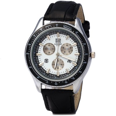 Longbo 8150 Women Quartz Watch Round Dial Leather StrapWomens Watches<br>Longbo 8150 Women Quartz Watch Round Dial Leather Strap<br><br>Watches categories: Unisex table<br>Available color: Black<br>Style : Fashion&amp;Casual<br>Movement type: Quartz watch<br>Shape of the dial: Round<br>Display type: Analog<br>Case material: Alloy<br>Band material: Leather<br>Clasp type: Pin buckle<br>The dial thickness: 0.8 cm / 0.3 inches<br>The dial diameter: 4.2 cm / 1.7 inches<br>The band width: 1.8 cm / 0.7 inches<br>Product weight: 0.039 kg<br>Product size (L x W x H) : 24.5 x 4.2 x 0.8 cm / 9.8 x 1.7 x 0.3 inches<br>Package contents: 1 x Watch
