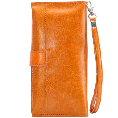 Гаджет   Multifunctional PU Material Universal Phone Pouch Lanyard Wallet Card Bag iPhone Cases/Covers