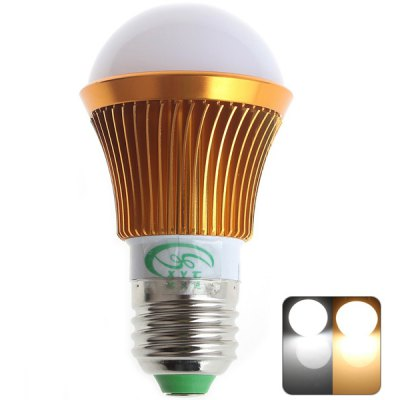 XinYiTong E27 6W 12 SMD 5630 500Lm Dimmable Silver Bulb Light