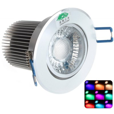 Zweihnder 9W Epistar Dimmable Wiring Ceiling Light RGB Recessed Panel Light