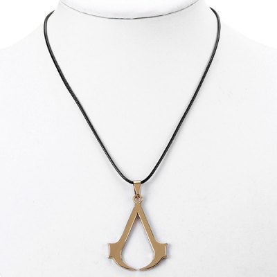 Popular Game Assassins Greed Brotherhood Ezio Necklace Pendants Collection Jewelry