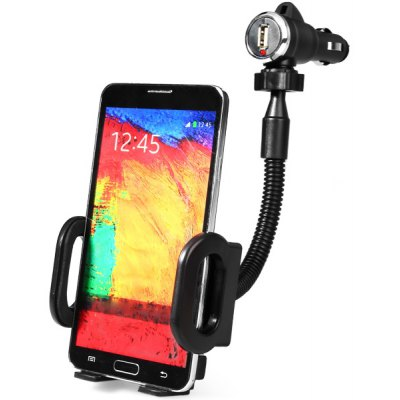 Mobile Phone Car Holder Stand with Car Charger Mount