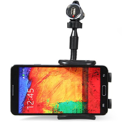 Car Charger Mount Design Flexible Phone Car Holder Clip Stand