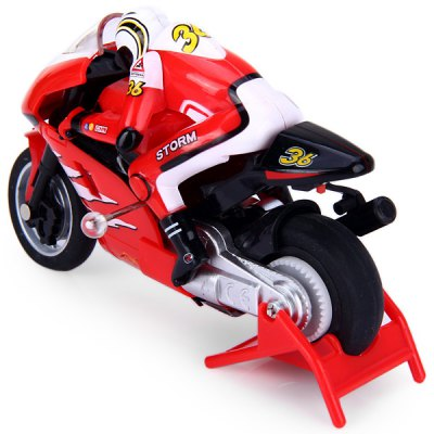 Mini RC Radio Remote Control Motorcycle for Boys Birthday Gift