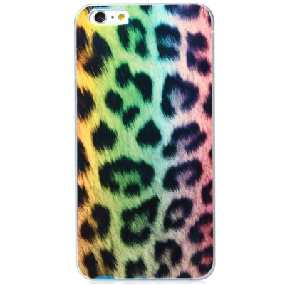 Гаджет   Fashionable TPU Material Leopard Print Pattern Back Cover Case for iPhone 6 Plus  -  5.5 inches iPhone Cases/Covers