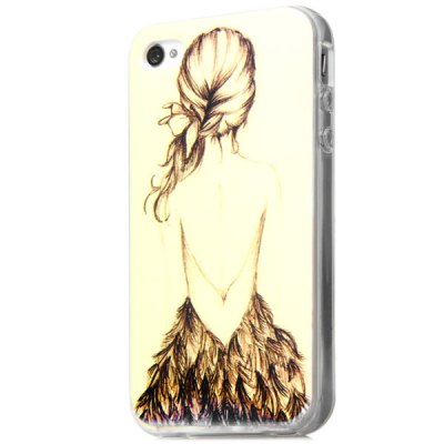 Fashionable TPU Material Girl Pattern Back Cover Case for iPhone 4 4SiPhone Cases/Covers<br>Fashionable TPU Material Girl Pattern Back Cover Case for iPhone 4 4S<br><br>For: Mobile phone<br>Compatible for Apple: iPhone 4/4S<br>Features: Back Cover<br>Material: TPU<br>Style: Special Design<br>Color: Yellow<br>Product weight : 22 g<br>Package weight : 0.042 kg<br>Product size (L x W x H): 11.6 x 5.8 x 1.2 cm / 4.6 x 2.3 x 0.5 inches<br>Package contents: 1 x Case