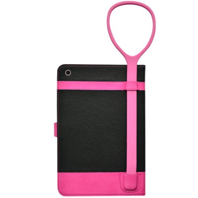 Гаджет   Stand Function PC and PU Cover Case with Silicone Lanyard for iPad mini 2 3 iPad Cases/Covers