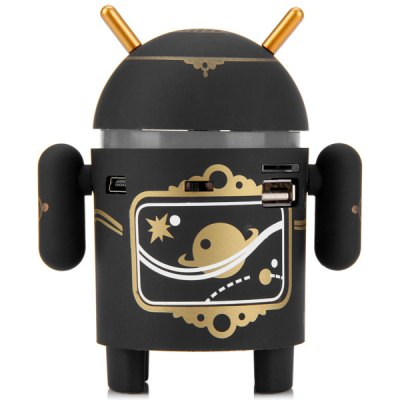 Creative Android Robot Style Satellite Pattern Wireless Bluetooth Spea