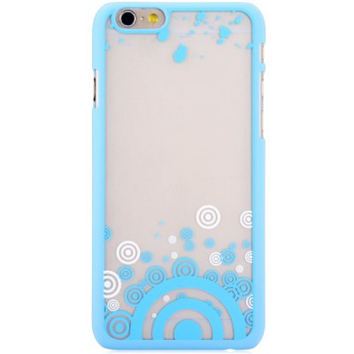 Transparent Fluorescent PC Back Cover Case for iPhone 6 - 4.7 inches