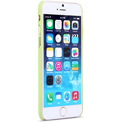 ФОТО New Dual Colors Fluorescent Transparent PC Back Case Cover of Circle Pattern for iPhone iPhone 6  -  4.7 inches
