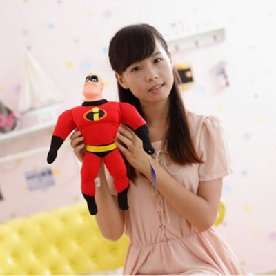 40cm Mr. Incredible Bob Parr Plush Toy for Christmas Gift