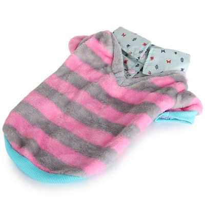 L Size Warm Pet Clothes Stripe Style Collared Shirt for DoggyDog Clothing &amp; Shoes<br>L Size Warm Pet Clothes Stripe Style Collared Shirt for Doggy<br><br>For: Dogs<br>Type: Cloth<br>Features: Stripe Style<br>Size: XXS, XS, S, M, L<br>Season: Spring, Summer, Autumn<br>Color: Green, Pink<br>Package weight   : 0.150 kg<br>Package Contents: 1 x Pet Clothes