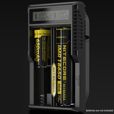 Nitecore UM20 Digital 2 Slots LCD Battery Charger