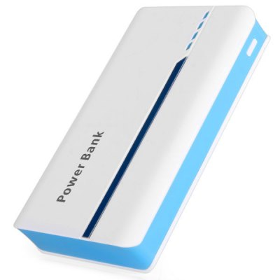 Гаджет   15000mAh Double USB Interface Design Portable Mobile Power Bank with LED Power Indicator iPhone Power Bank