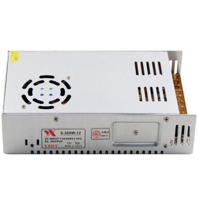 Гаджет   S - 360W - 12 Switch Power Supply 110 - 220V Input 360W 12V 30A Output Strip Lamp Switching LED Accessories