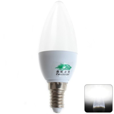 Zweihnder E14 3W 8 SMD-2835 White Light Candle Light