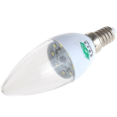 Фотография Zweihnder 3W E14 8 SMD - 2835 LEDs 280LM White Light Candle Lamp (220 - 240V)