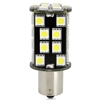 1156 8W 640lm White Light Car Daytime Running LightCar Lights<br>1156 8W 640lm White Light Car Daytime Running Light<br><br>Type   : Daytime Running Light<br>Connector: 1156<br>LED type: SMD 5050<br>LED/Bulb quantity: 40<br>Emitting color : White<br>Voltage : 12V<br>Power : 8W<br>Lumens: 640lm<br>Type of lamp-house : LED<br>Apply lamp position: External Lights<br>Product weight   : 0.018 kg<br>Package weight   : 0.050 kg<br>Product size (L x W x H)  : 2.5 x 2.5 x 5.7 cm / 0.98 x 0.98 x 2.24 inches<br>Package size (L x W x H)  : 13 x 6 x 4 cm<br>Package Contents: 1 x Car Light
