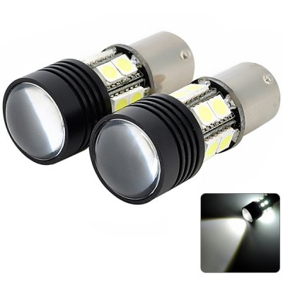 2pcs 1156 5.4W 400lm White Light 12V Car Backup Light