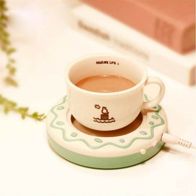 Cute Cookies Biscuit Shaped USB Warmer Cup Coaster Electro - thermal Insulation Plate for Office and Home UseHome Gadgets<br>Cute Cookies Biscuit Shaped USB Warmer Cup Coaster Electro - thermal Insulation Plate for Office and Home Use<br><br>Type: Novelty,Fashion,Eco-friendly,Practical,Leisure<br>For: All<br>Material: Electronic Components,Stainless Steel,ABS<br>Occasion: Home,Living Room,Kitchen Room,Bedroom,Office,School<br>Power rating: 3.6W<br>How to Use: Connected to the USB interface device<br>Product weight: 0.135 kg<br>Package weight: 0.260 kg<br>Product size (L x W x H): 12.50 x 12.50 x 2.70 cm / 4.92 x 4.92 x 1.06 inches<br>Package size (L x W x H): 14.00 x 14.00 x 4.00 cm / 5.51 x 5.51 x 1.57 inches<br>Package Contents: 1 x Warm Cup Coaster, 1 x User Guide, 1 x USB Cable