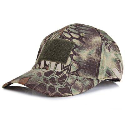 Outdoor Camouflage Visors Hat with Velcro