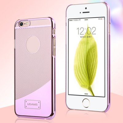USAMS E - plating Series Transparent PC Material Curve Pattern Back Cover Case - UsamsiPhone Cases/Covers<br>USAMS E - plating Series Transparent PC Material Curve Pattern Back Cover Case<br><br>Brand: USAMS<br>Compatible for Apple: iPhone 6<br>Features: Back Cover<br>Material: Plastic<br>Style: Modern<br>Color: Silver, Rose, Gold, Gray<br>Product weight : 0.013 kg<br>Package weight : 0.077 kg<br>Product size (L x W x H): 13.7 x 6.7 x 0.7 cm / 5.4 x 2.6 x 0.3 inches<br>Package size (L x W x H) : 17.4 x 9.6 x 2 cm<br>Package contents: 1 x Case