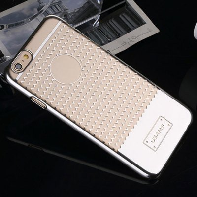 Фотография USAMS V - plating Series Transparent PC Material Triangle Pattern Back Cover Case