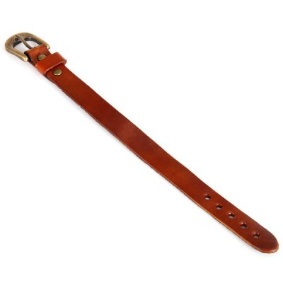 Multifunctional Vintage Leather Watch Band BraceletWatch Accessories<br>Multifunctional Vintage Leather Watch Band Bracelet<br><br>Type: Normal watch band<br>Features: Vintage and fashionable<br>Material: Leather<br>Color: Red, Brown, Blue, Green<br>Product weight: 0.015 kg<br>Package weight: 0.045 kg<br>Product size (L x W x H) : 24.5 x 2.2 x 0.3 cm / 9.65 x 0.87 x 0.12 inches<br>Package size (L x W x H): 26 x 3.5 x 1.5 cm<br>Package Contents: 1 x Multifunctional Leather Band