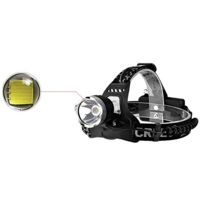 YouOKLight CREE XML T6 LED Rechargeable Outdoor Headlight (1200LM 3 Modes)Headlights<br>YouOKLight CREE XML T6 LED Rechargeable Outdoor Headlight (1200LM 3 Modes)<br><br>Brand: YouOKLight<br>Function: Hunting, Camping, Exploring, Hiking, Household Use, Walking, Seeking Survival, Night Riding<br>Feature: Can be used as headlamp or bicycle light<br>Lumens: 1200Lm<br>Emitter: 1 x Cree XML T6<br>Mode: 3 (High &gt; Low &gt; Strobe)<br>Power source: AC 100-240V Wall Charger, Battery<br>Reflector: Aluminum smooth reflector<br>Lens: Glass Lens<br>Working time: 8 hrs<br>Rechargeable: Yes<br>Color: Black<br>Body Material: Aluminium Alloy<br>Product weight: 0.257 kg<br>Package weight: 0.3 kg<br>Product size (L x W x H): 10.3 x 8 x 8.2 cm / 4.06 x 3.15 x 3.23 inches<br>Package size (L x W x H): 11.7 x 11.7 x 11 cm<br>Package Contents: 1 x YouOKLight Cree XML-T6 1200Lm 3 Modes LED Headlamp, 1 x AC Charger, 1 x User Manual