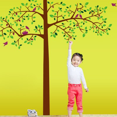 DIY Home Decoration Repositionable Big Tree Pattern Wall Sticker Mural Beautiful Home Wall Ornaments
