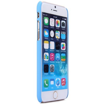 ФОТО New Dual Colors Fluorescent Transparent PC Back Case Cover of Small Heart Pattern for iPhone iPhone 6  -  4.7 inches