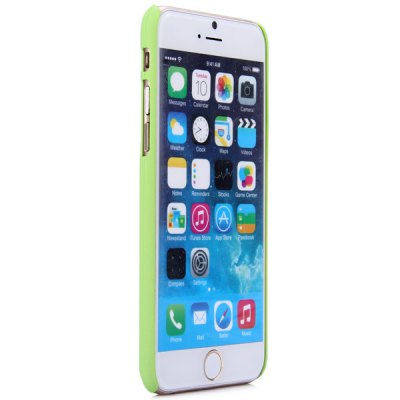ФОТО New Dual Colors Fluorescent Transparent PC Back Case Cover of Leopard Print Pattern for iPhone iPhone 6  -  4.7 inches