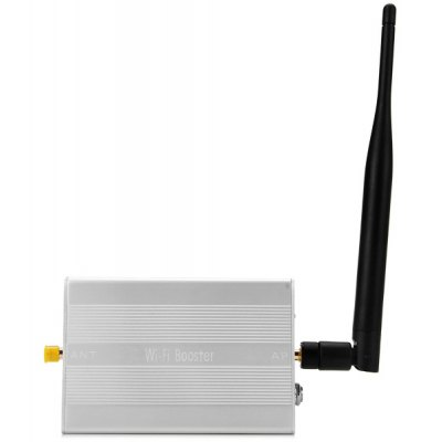 RF610 Pro Multifunctional 2.4GHz 2.3W Wireless WiFi Signal Booster Amplifier Built - in Gain Antenna Compatible IEEE 802.11b / g / n (AC 100  -  240V)
