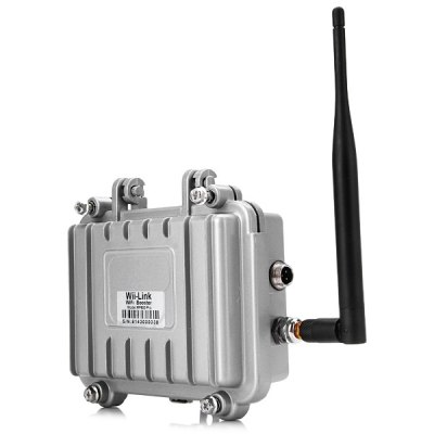 RF600 Pro High Performance 2.4GHz 4W Wireless WiFi Signal Booster Amplifier (AC 100  -  240V)
