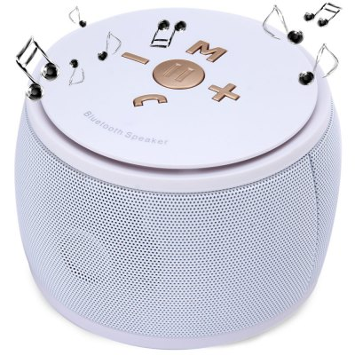 F08 MIC TF Card Wireless Bluetooth Portable Speaker