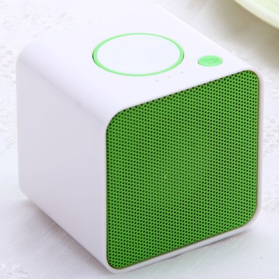 Ultra Portable Wireless Bluetooth MIC Speaker Speakerphone Built - in Lithium Battery Support TF Card Slot