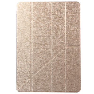 ФОТО Fashionable Hair Texture Pattern PU and Transparent PC Material Cover Case for iPad Air 2