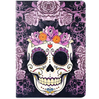 Stylish Skull Flower Pattern PU and PC Material Cover Case for iPad Air 2iPad Cases/Covers<br>Stylish Skull Flower Pattern PU and PC Material Cover Case for iPad Air 2<br><br>Compatible for Apple: iPad Air 2<br>Features: Full Body Cases, Cases with Stand<br>Material: Plastic, PU Leather<br>Style: Special Design<br>Product weight : 0.202 kg<br>Package weight : 0.224 kg<br>Product size (L x W x H): 24.4 x 17.5 x 1.1 cm / 9.6 x 6.9 x 0.4 inches<br>Package Contents: 1 x Case
