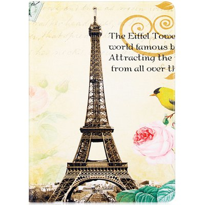 ФОТО Fashionable Eiffel Tower Pattern PU and PC Material Cover Case for iPad Air 2