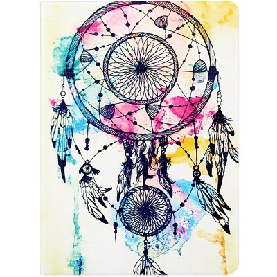 Fashionable Wind Chime Pattern PU and PC Material Cover Case for iPad Air 2