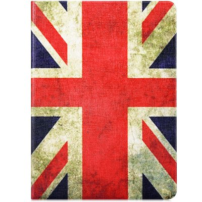 Fashionable the Union Jack Pattern PU and PC Material Cover Case for iPad Air 2