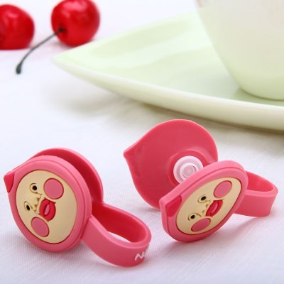 Фотография Dual Practical Cable Cord Wrap Manager Earphone Cable Winder with Kobitos Design