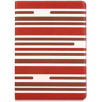 Fashionable Contrast Color Stripe Pattern PU and PC Material Cover CaseCases &amp; Leather<br>Fashionable Contrast Color Stripe Pattern PU and PC Material Cover Case<br><br>Compatible for Apple: iPad Air 2<br>Features: Full Body Cases, Cases with Stand, With Card Holder<br>Material: PU Leather, Plastic<br>Style: Special Design<br>Color: Black, Red, Blue, Brown<br>Product weight : 0.275 kg<br>Package weight : 0.295 kg<br>Product size (L x W x H): 24.5 x 17.6 x 1.5 cm / 9.6 x 6.9 x 0.6 inches<br>Package Contents: 1 x Case