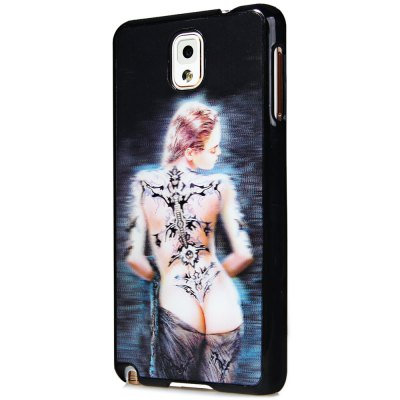Special PC Material Back Case Cover with 3D Vary Picture Design  -  Beauty Pattern