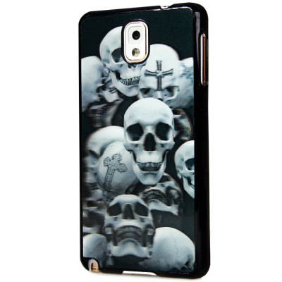 Special PC Material Back Case Cover with 3D Vary Picture Design  -  Skull Pattern