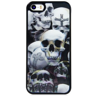 ФОТО Stylish PC Material Back Case Cover with 3D Vary Picture Design  -  Skull Pattern