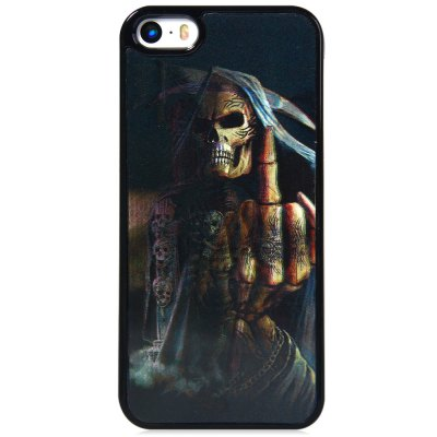 ФОТО Stylish PC Material Back Case Cover with 3D Vary Picture Design  -  Skull Man Pattern